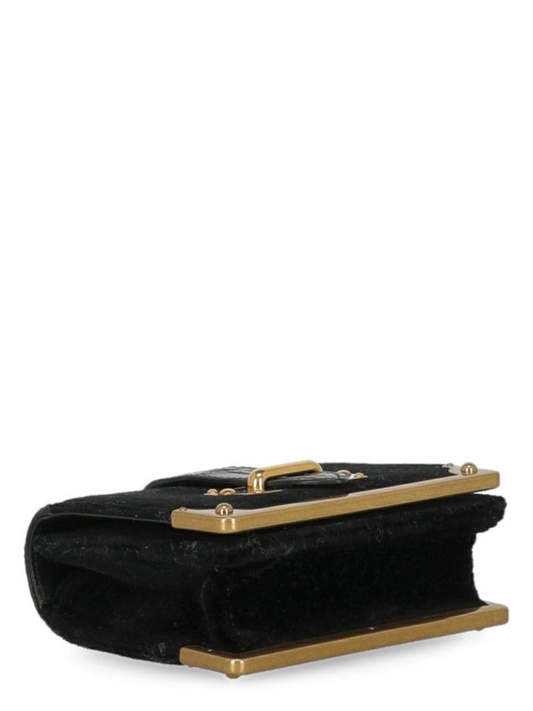 Prada Woman Shoulder bag Cahier Black Fabric 1