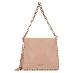 Prada Woman Shoulder bag Pink Leather