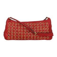 Prada Woman Shoulder bag Red Leather