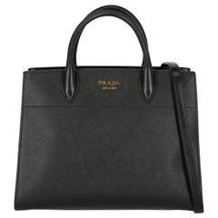 Prada Woman Tote bag Black, White