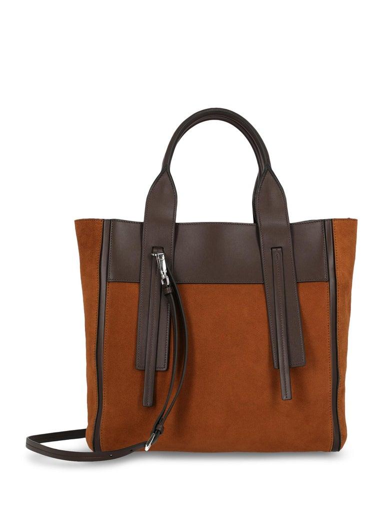 Women's Prada Woman Tote bag Brown  For Sale