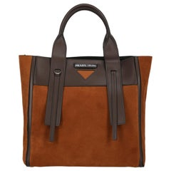 Prada Woman Tote bag Brown
