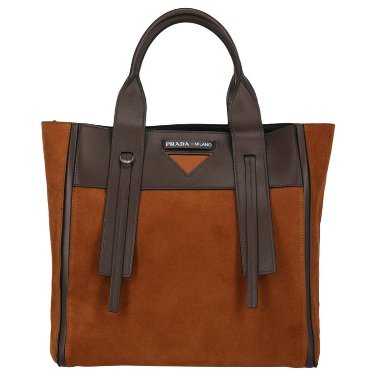Prada Woman Tote bag Brown  For Sale