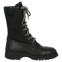 Prada Women  Ankle boots Black Leather IT 37