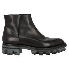 Prada Women  Ankle boots Black Leather IT 40