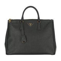 Prada Women  Handbags Galleria Black Leather
