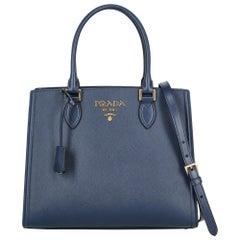 Prada  Women   Handbags  Navy Leather