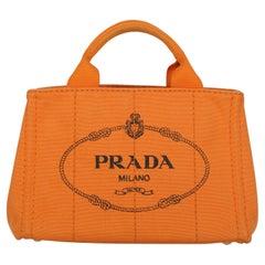 Prada  Women   Handbags  Orange Fabric