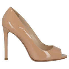 Prada Women  Pumps Beige Leather IT 37