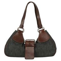 Prada Women  Shoulder bags Black Cotton