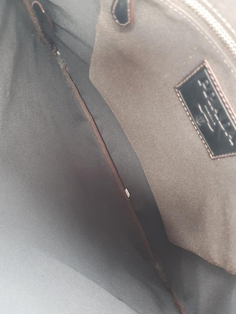 Women's Prada  Women   Shoulder bags   Brown Cotton  For Sale
