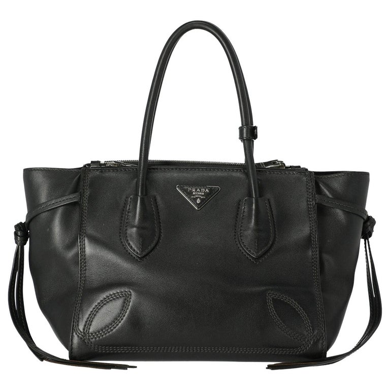 Prada Women's Tote Bag Black For Sale