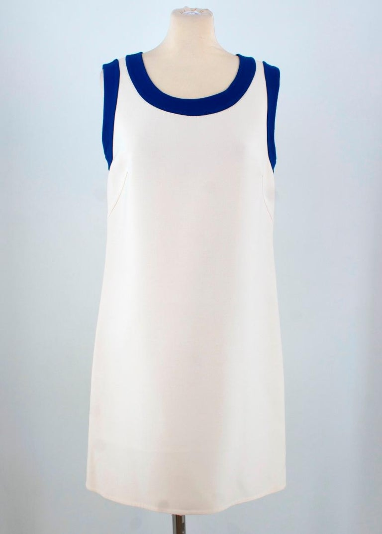 Prada wool blend dress  Featuring: -sleeveless design -loose fit -concealed back hook and zip fastening -mid length -concealed back zip fastening  Condition: 9.5/10 Please note, these items are pre-owned and may show signs of being stored even when