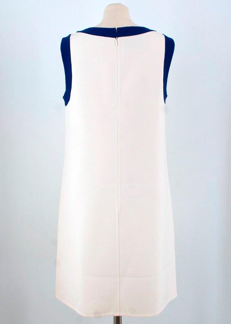 Prada wool blend shift dress US 4 For Sale 1