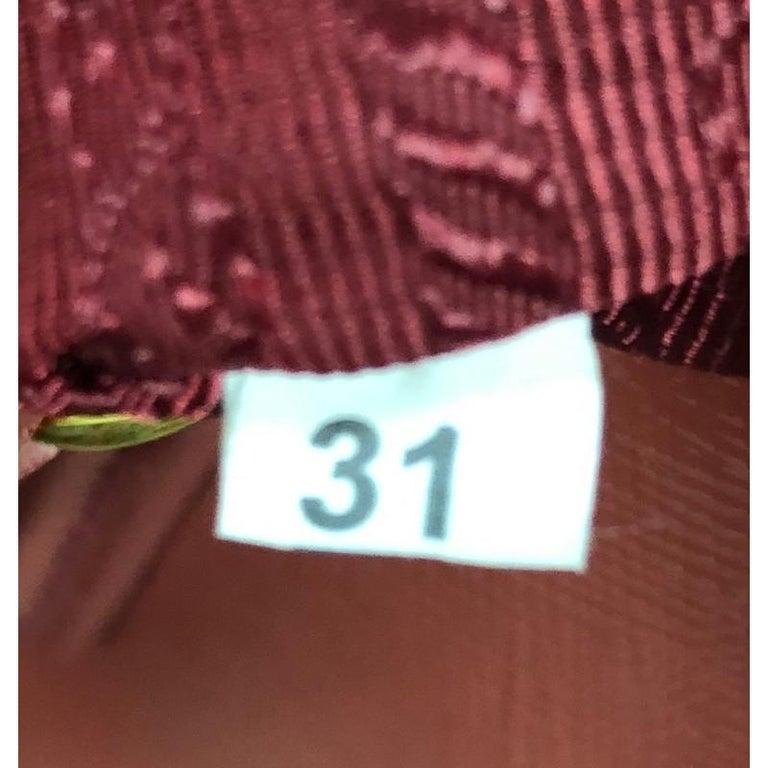 Prada Zip Around Convertible Dome Satchel Vernice Saffiano Leather North  For Sale 2