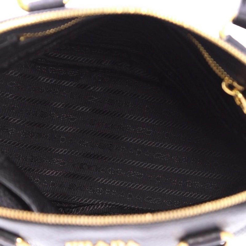 a1ec964e70e5 Prada Zip Around Convertible Dome Satchel Vitello Daino Small at 1stdibs