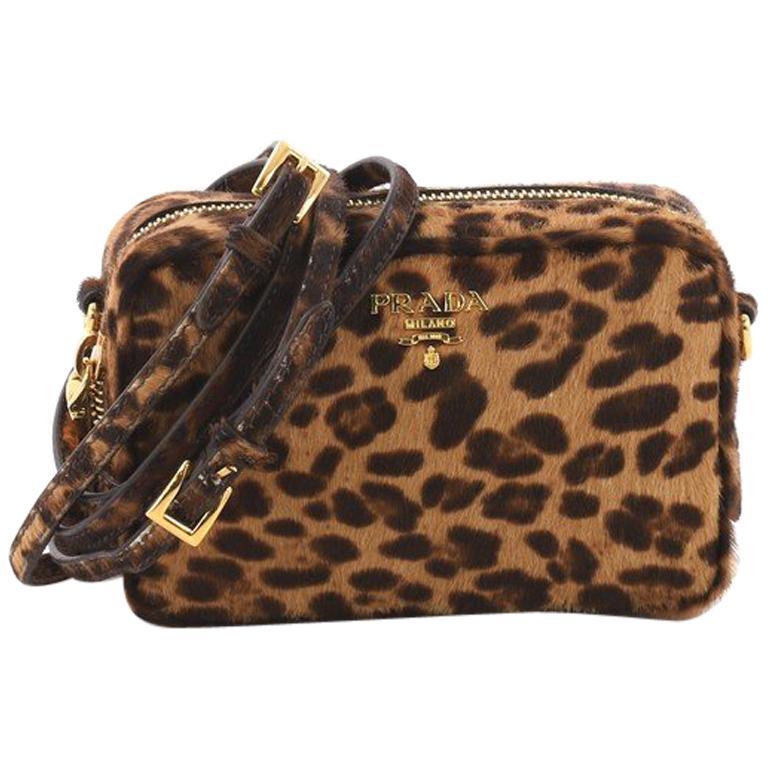 8f8100585018 Prada Zip Crossbody Bag Cavallino Calf Hair Mini at 1stdibs