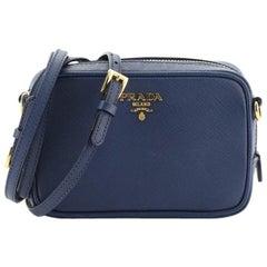 Prada Zip Crossbody Bag Saffiano Leather Small