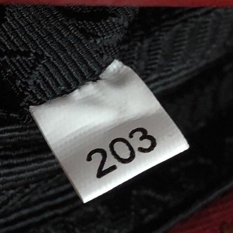 Prada Zip Crossbody Bag Vitello Daino Small For Sale 2