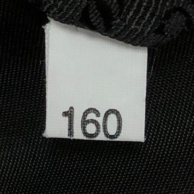 Prada Zip Top Messenger Bag Tessuto Large For Sale 3
