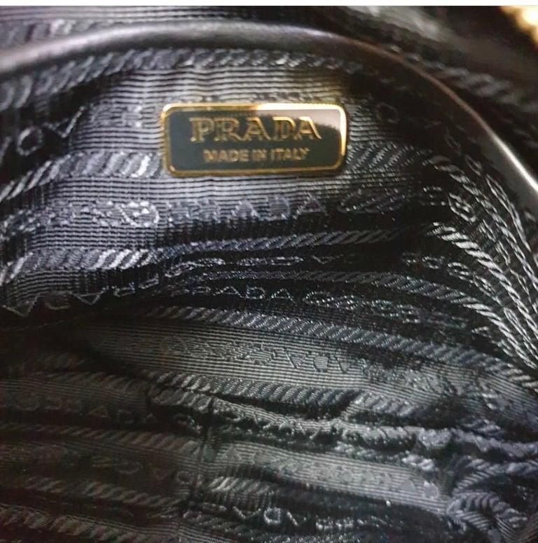 PradaCahier Small Velvet Convertible Belt Bag 3