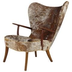 Pragh Wingback Chair by Madsen & Schubell