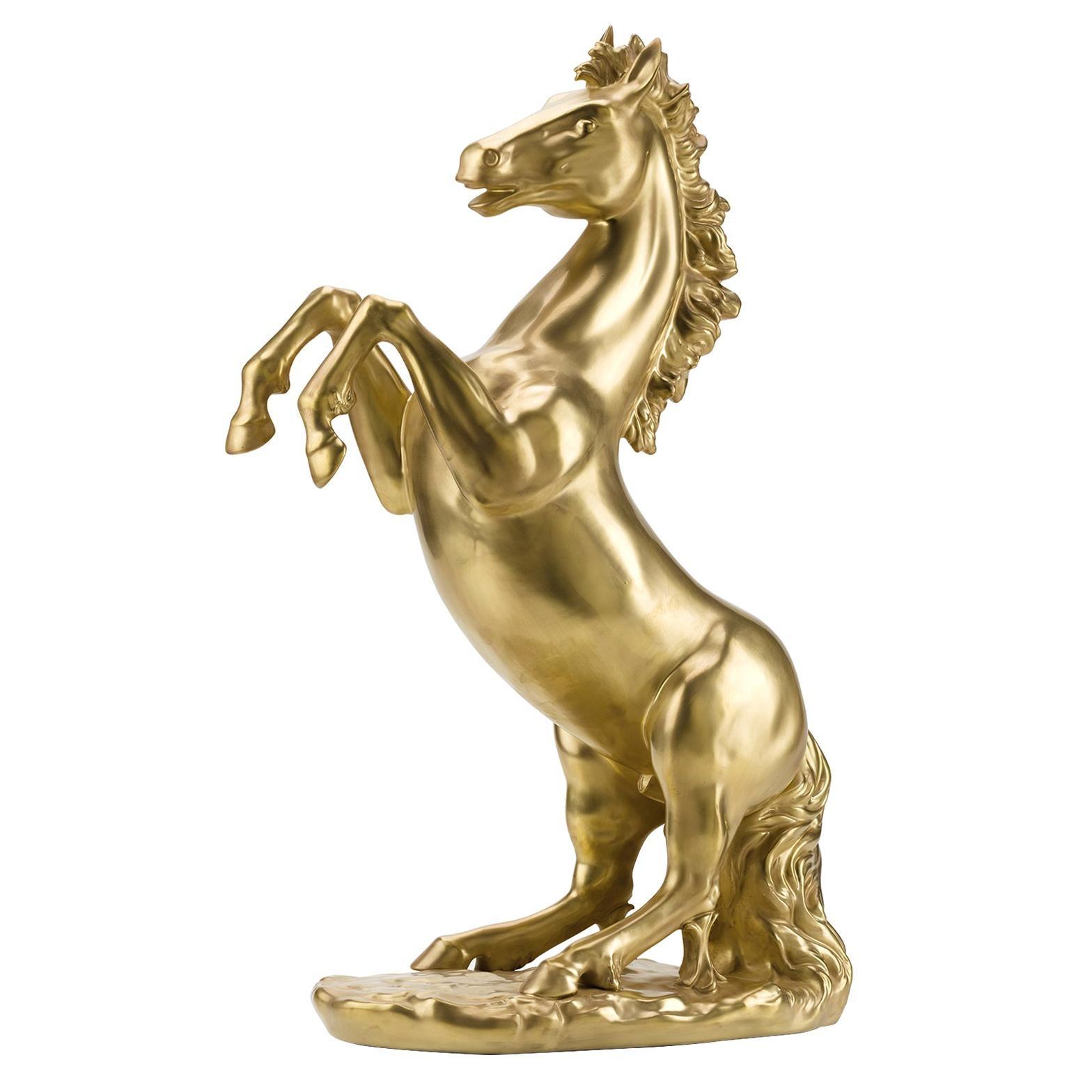 Prancing Stallion Sculpture