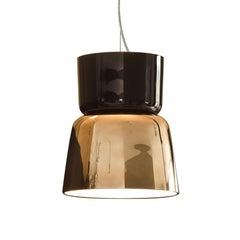 """Italienische Glas-Hängeleuchte """"Bloom"""" S5 von Prandina"""