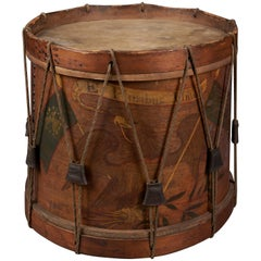Pre-Civil War New York State Militia Drum