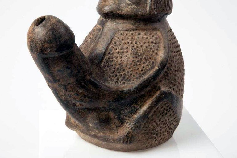 Pre-Columbian Erotic Pottery from the Chimu Culture For Sale 2