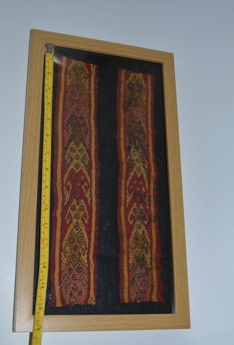 Pre Columbian Fine Chancay Textile Panel, circa 1100-1400 AD In Fair Condition For Sale In London, GB