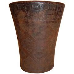 Pre-Columbian Inca Kero Vessel