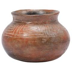 Pre-Columbian Incised Redware Olla
