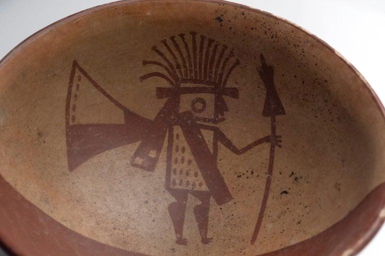 Pre-Columbian Narino Warrior Bowl For Sale 4