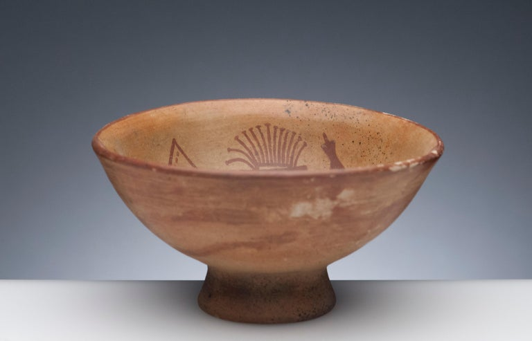 Colombian Pre-Columbian Narino Warrior Bowl For Sale