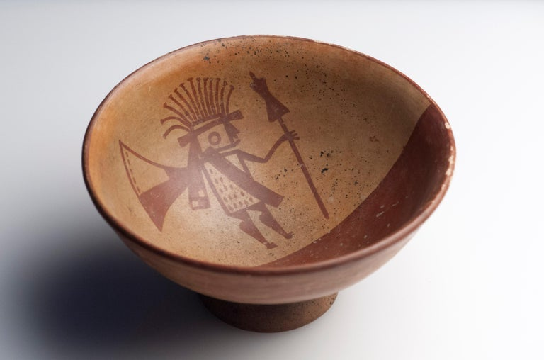 Pre-Columbian Narino Warrior Bowl For Sale 1