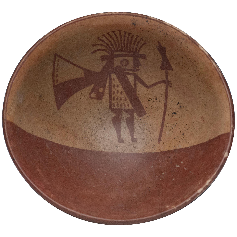 Pre-Columbian Narino Warrior Bowl