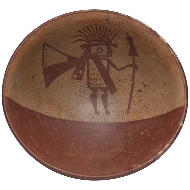 Pre-Columbian Narino Warrior Bowl For Sale