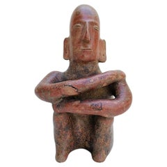 Pre Columbian Style Clay Sculpture