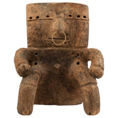 Pre-Columbian Terracotta Figure, Quimbaya Culture, Columbia