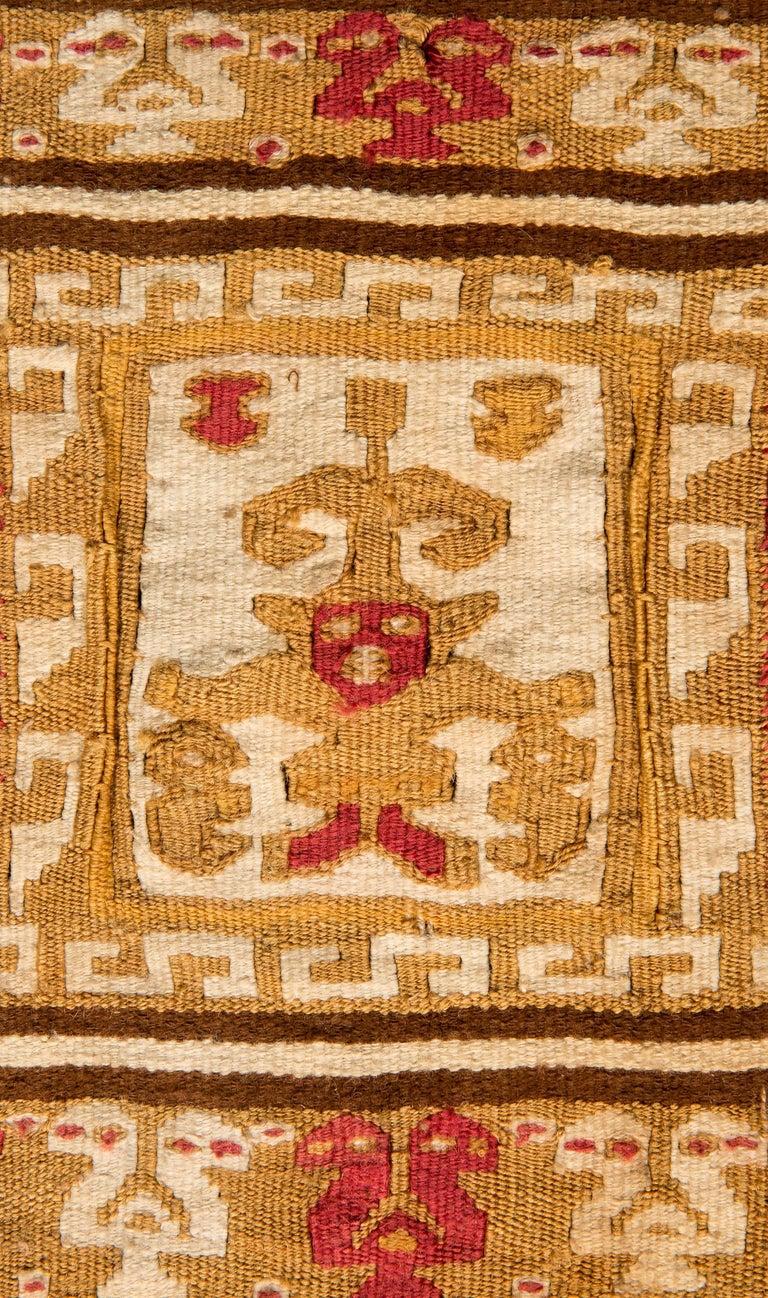 Peruvian Pre-Columbian Warrior Banner, Chimu, Peru, circa 1100-1476 AD For Sale