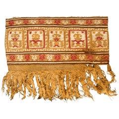 Pre-Columbian Warrior Banner, Chimu, Peru, circa 1100-1476 AD