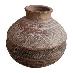 Pre-Hispanic Ceramic Vessel from Nayarit, Mexico