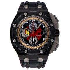 Pre-Owned Audemars Piguet Royal Oak Offshore Carbon 26290IO.OO.A001VE.01 Watch