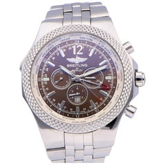 Pre-Owned Breitling Bentley Gmt Stainless Steel A4736212