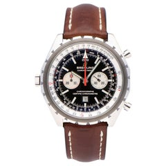 Pre-Owned Breitling Navitimer Chronomatic Stainless Steel A41360 Watch