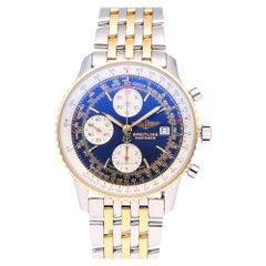 Pre-Owned Breitling Navitimer Stainless Steel and Yellow Gold D13022 Watch