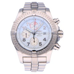 Pre-Owned Breitling Super Avenger Stainless Steel A1337011 Watch