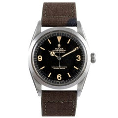 Pre-Owned C/1967 Rolex Gilt Dial Explorer Ref. #1016