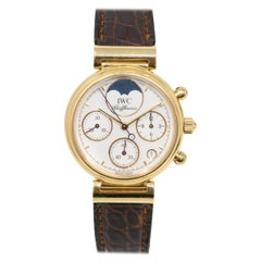 Pre-Owned IWC Da Vinci 3736 Gold Women Watch 'Certified Authentic and Warranty'